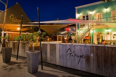 Restaurants curacao Ginger